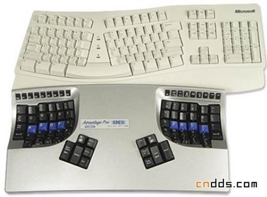 Kinesis Advantage Pro人体工程学设计的键盘