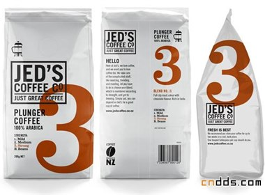 咖啡包装设计欣赏