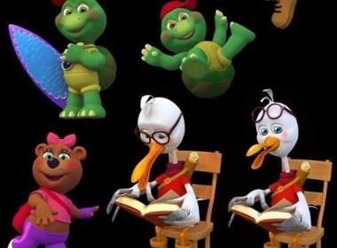夸张有趣的国外3D动画角色