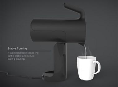完美热水壶,使烧茶更容易