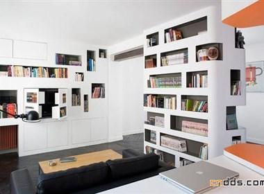 巧妙的空间规划—60平米公寓欣赏