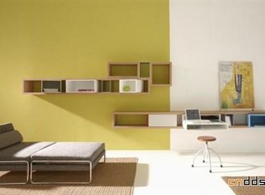 意大利Targa现代个性实木书架