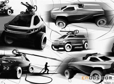 AMATOYA概念侦察车