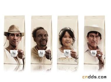 Peeze咖啡包装设计欣赏