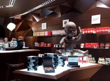 外国一家时尚的巧克力店