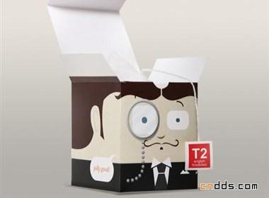 葛兰2011创意茶包装