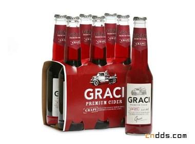苹果酒品牌Graci包装欣赏