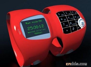 一款专为极限运动员设计的便携式手机