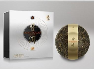 龍泉茶系列包裝設計