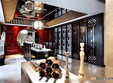 新时代的华丽中式家装