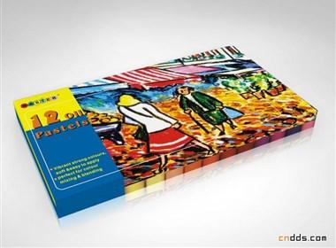 一組『繪畫顏料盒』的設計
