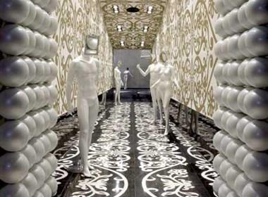 巴林的一个时尚的服装店