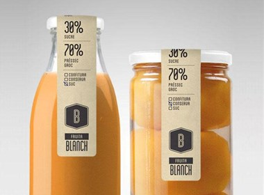 醇厚鮮美的Fruita Blanch瓶裝果汁