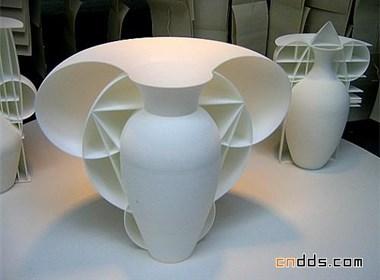 三维花瓶设计