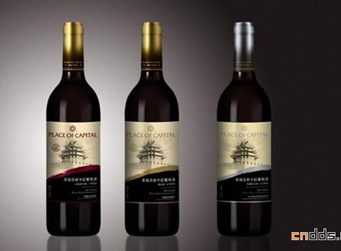 京城王府干红葡萄酒全案