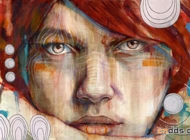 漂亮的肖像绘画作品欣赏