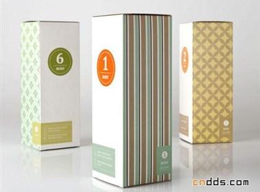 Pulsazione美容产品系列包装