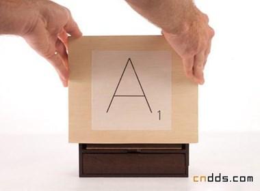 素凈環保的木盒巧克力存儲罐