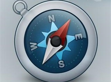 指南针图标设计