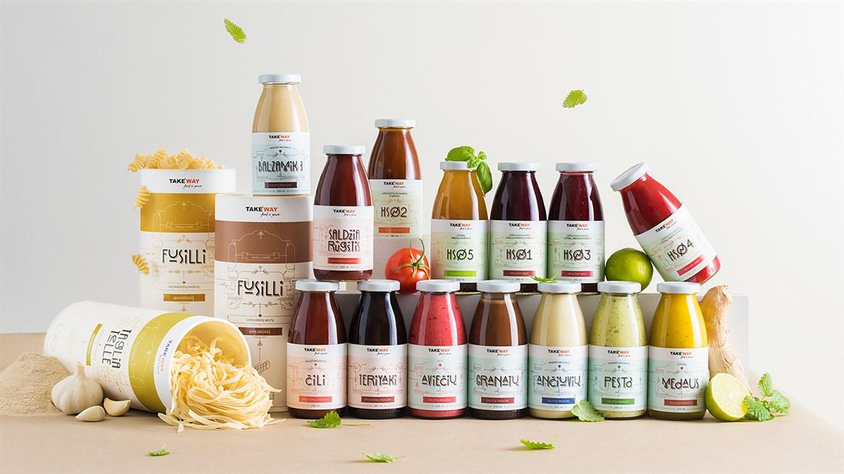 TakeWay健康食品包装