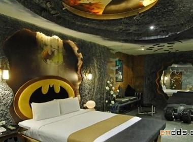 """""""蝙蝠侠""""旅馆"""