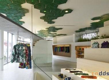 TORAFU ARCHITECTS – INHABITANT 旗舰店内部展示设计