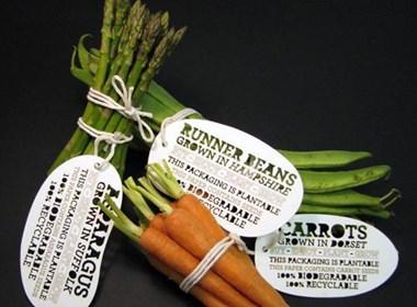 Ben Huttly可爱的超市蔬菜包装