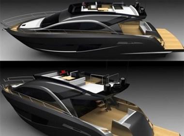 高档豪华的SENTORI 50概念游艇设计