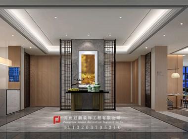 濮阳酒店设计机构君鹏装饰新的力作濮阳璞华商务酒店