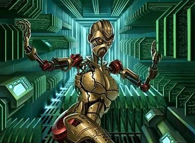 性感妩媚女机器人CG作品最新搜集