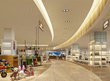 安阳购物中心设计装修案例——水晶购物广场