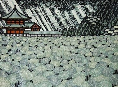 Ray Morimura木刻版画作品