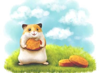 令人瞠目结舌可爱小老鼠插画设计