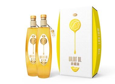 核桃油包装设计公司|高端食用油包装设计公司|圣智扬创意包装设计公司