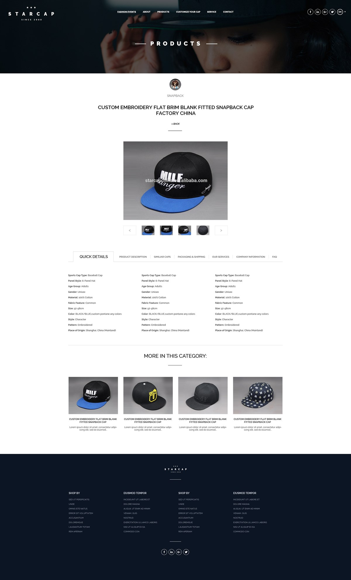 starcap网页设计