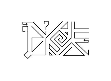 """梁风波的字体设计-""""全月集""""2017年2月第一辑"""