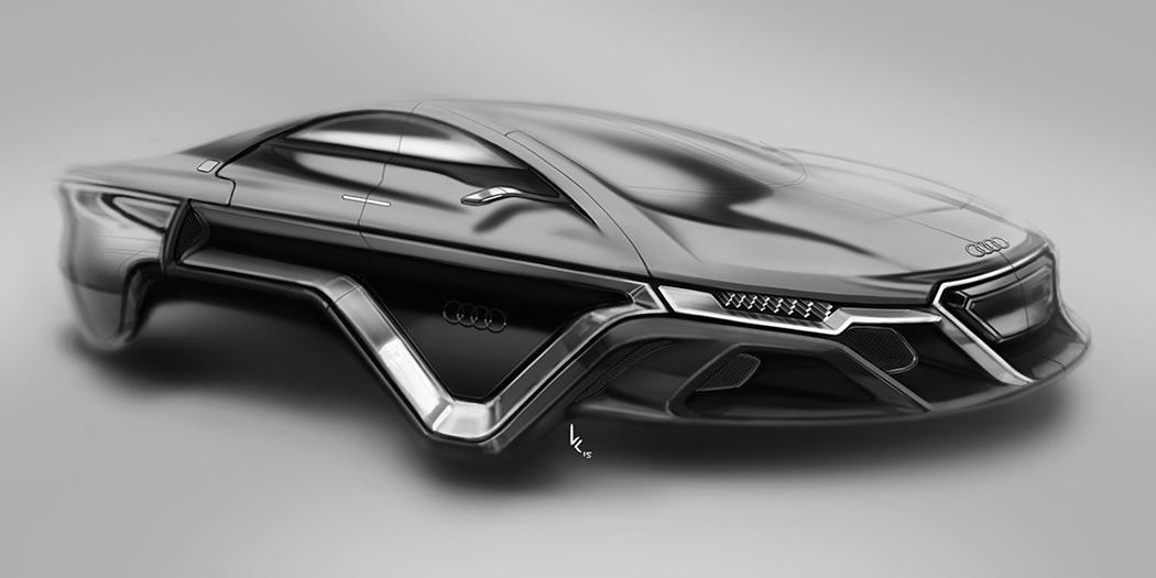 概念磁悬浮汽车设计欣赏
