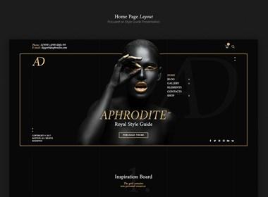 国外购物类网站界面设计