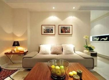 70㎡两居室现代简约风格装修案例欣赏