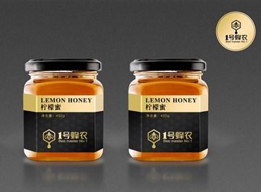 一号蜂农蜂蜜包装设计