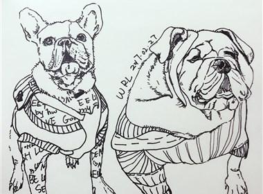 两只狗的生活意见