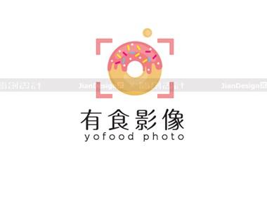 【一日一标】美食摄影机构logo设计—有食摄影