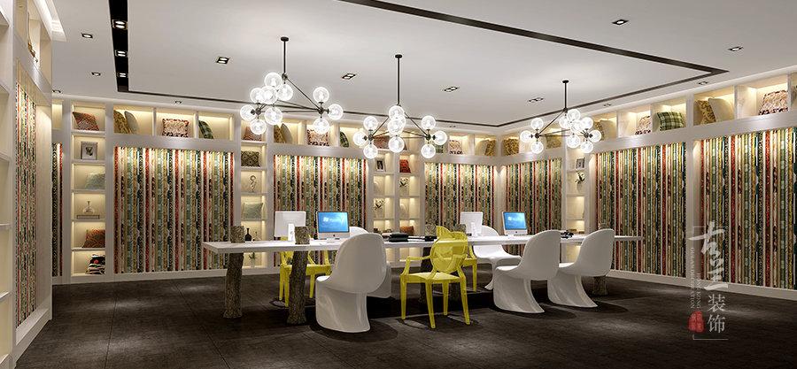 凯撒家具展厅 成都展厅设计丨成都展厅装修丨古兰装饰