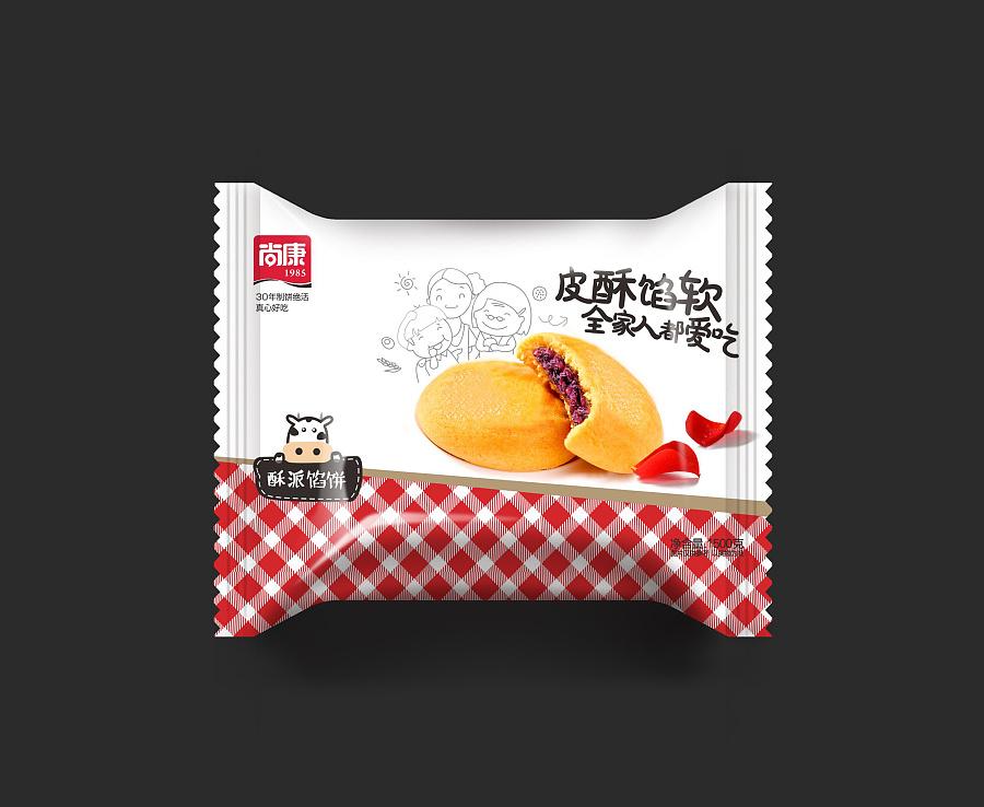 蛋糕面包红烧肉食品包装设计