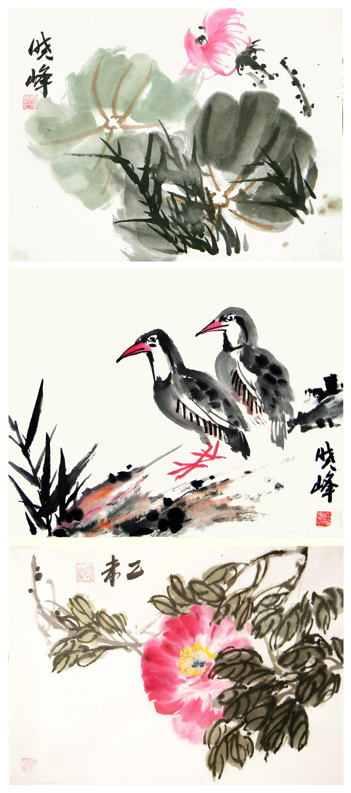 小品花鸟系列