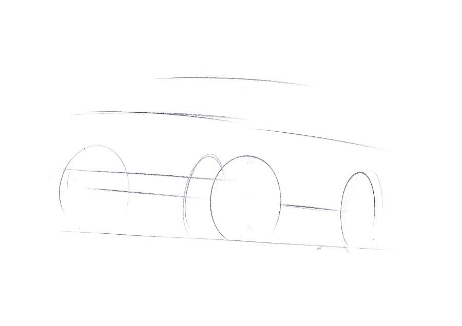 原创作品:工业产品设计手绘之吉普车步鄹图~~马赛(Mars)作品