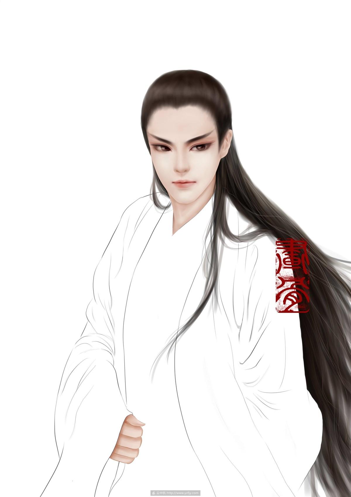 皇帝立绘作品 作者云中帆会员-畫骨