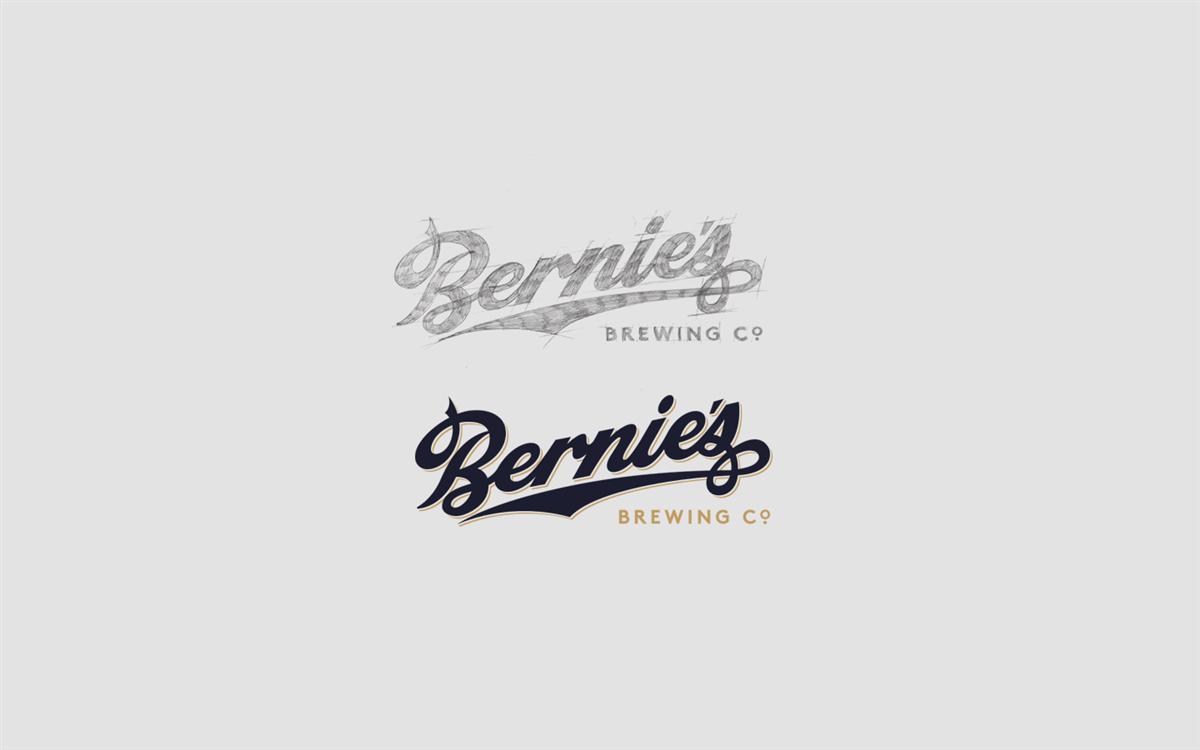 Bernie's酒包装