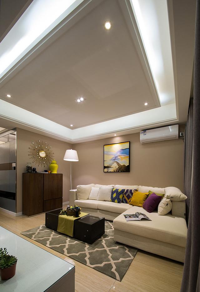 两居室装修案例:不大的家,温暖精致!