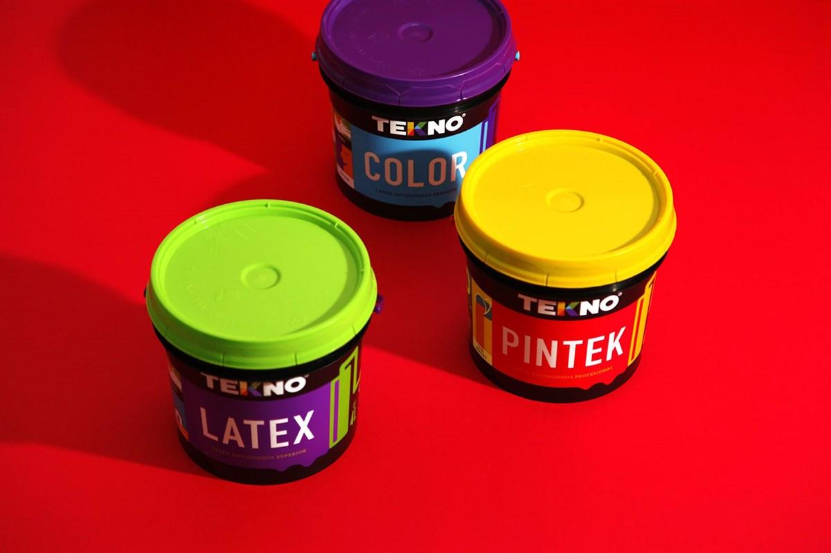 Tekno油漆包装设计